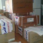 إرسال شحنة أدوية الى المنطقة الشرقية