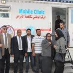زيارة لجناح المركز بمعرض طرابلس