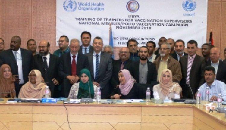 التجهيز للحملة الوطنية للتطعيمات 2018م