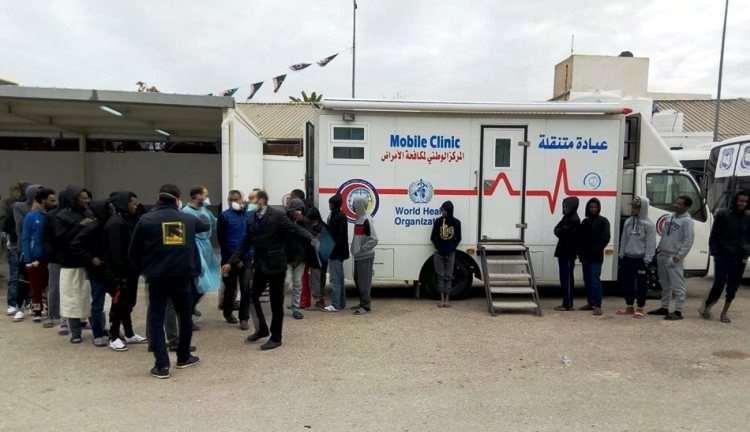 مسح صحي لمراكز الإيواء