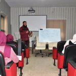 دورة تدريبية في مجال اللغة الإنجليزية