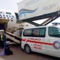 فريق طبي وشحنة من الأدوية إلى مدينة غات