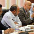 لجنة من ديوان المحاسبة _ اجتماع